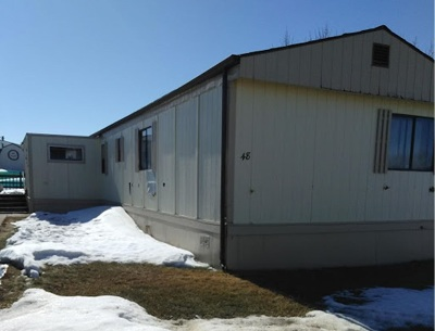Bottineau County, Burke County, Divide County, McHenry County, McLean County, Mountrail County, Pierce County, Ramsey County, Renville County, Rolette County, Ward County, Wells County, Williams County Mobile Home For Sale: 405 31st Ave #48 SE