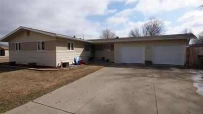 minot Single Family Home For Sale: 1 22 SW