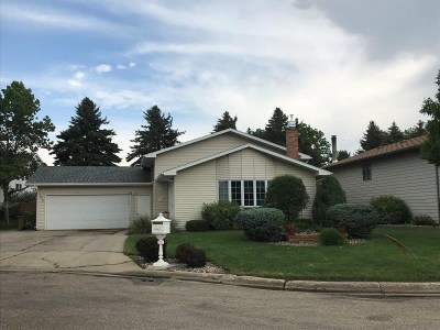 minot Single Family Home For Sale: 1216 18 1/2 Ave SW
