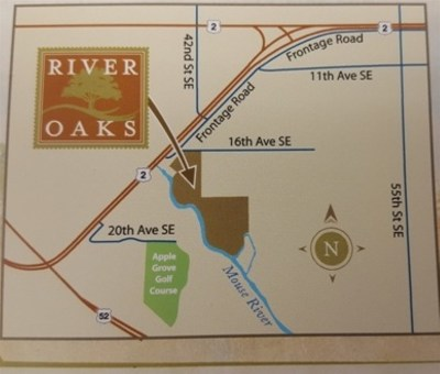 Minot Residential Lots & Land For Sale: River Oaks