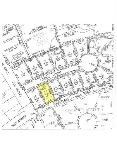 Wahpeton Residential Lots & Land For Sale: Linden Court