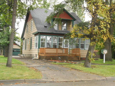 Wahpeton Single Family Home For Sale: 612 3rd St N
