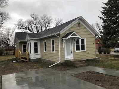 Minden NE Single Family Home Right Of First Refusal: $179,500