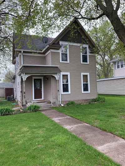 Minden NE Single Family Home New Listing: $109,900