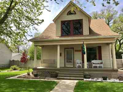 Minden NE Single Family Home New Listing: $185,000