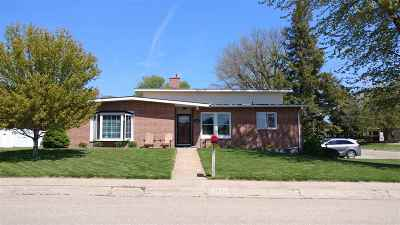 Minden NE Single Family Home New Listing: $182,500