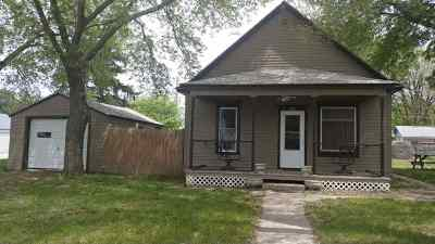 Minden NE Single Family Home New Listing: $64,900