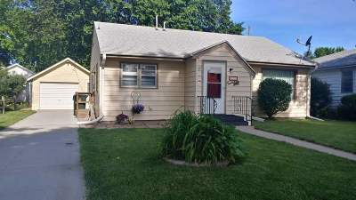 Minden NE Single Family Home New Listing: $105,000