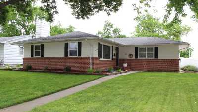 Kearney NE Single Family Home New Listing: $199,900