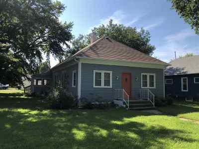 Minden NE Single Family Home For Sale: $69,500