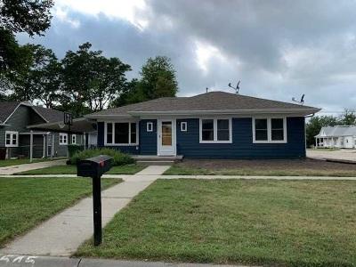 Minden NE Single Family Home New Listing: $120,000