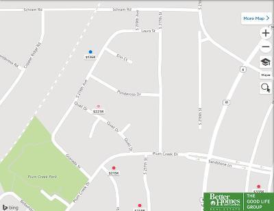 Gretna Residential Lots & Land For Sale: 21318 Castlerock Lane