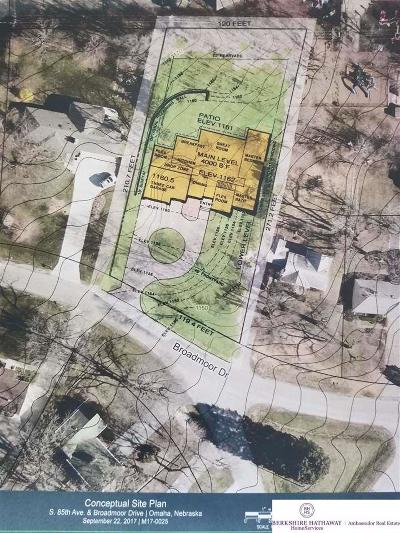 Omaha Residential Lots & Land For Sale: 8506 Broadmoor Drive