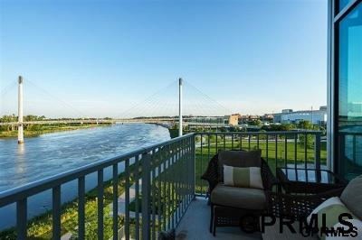 Omaha Condo/Townhouse For Sale: 444 Riverfront Plaza #604