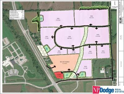 Omaha Residential Lots & Land For Sale: 21 Acres 108th Street Frontage