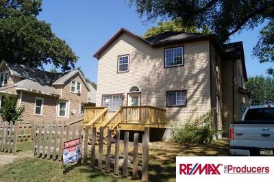 Omaha Multi Family Home For Sale: 1402 Bancroft Street