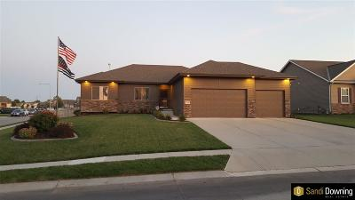 Papillion Single Family Home For Sale: 811 Fall Creek Road