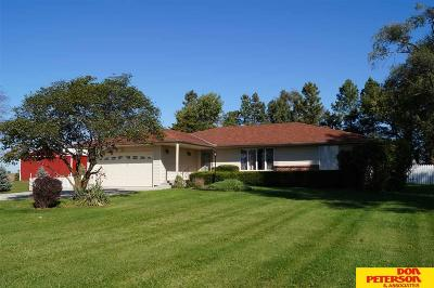 Saunders County Single Family Home For Sale: 2366 County Road X