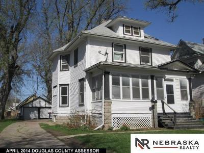 Omaha Single Family Home For Sale: 5326 N 25 Street