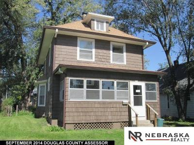 Omaha Single Family Home For Sale: 2824 Ruggles Street