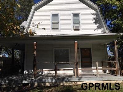 Omaha Multi Family Home For Sale: 3870 Hamilton Street