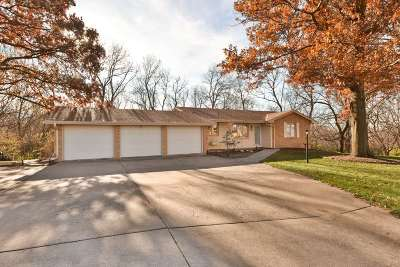 Omaha Single Family Home New: 11405 Old Maple Road