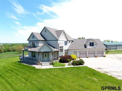 Saunders County Single Family Home For Sale: 1276 County Road 21 County Road
