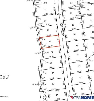 Papillion Residential Lots & Land For Sale: 10114 S 106 Street