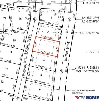Papillion Residential Lots & Land For Sale: 10411 S 105 Street