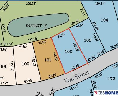 Papillion Residential Lots & Land For Sale: 7310 Von Street