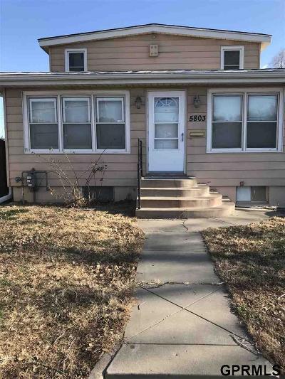 Omaha Single Family Home New: 5803 N 30 Street