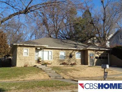 Plattsmouth Single Family Home New: 1110 Main Street