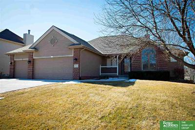 Sarpy County Single Family Home New: 702 Fall Creek Road