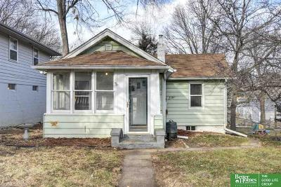 Omaha Single Family Home For Sale: 6762 Bedford Avenue