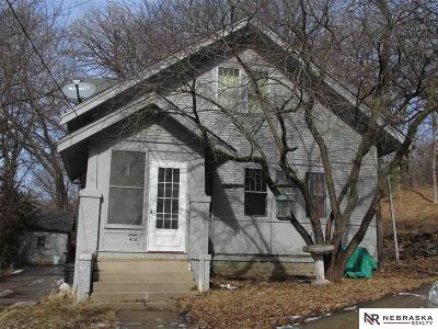 Council Bluffs Single Family Home For Sale: 406 McGee Avenue