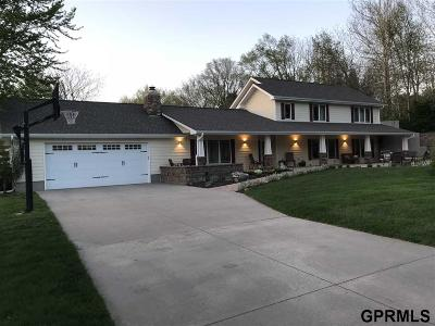 Omaha Single Family Home For Sale: 18132 Trail Ridge Road