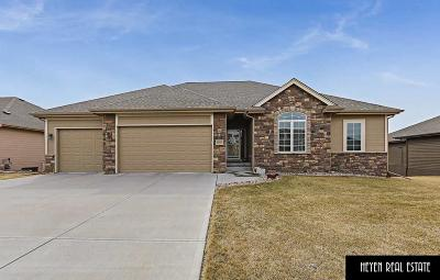 Papillion Single Family Home For Sale: 6607 Harvest Drive