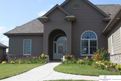 Omaha Single Family Home New: 12708 Deer Creek Drive