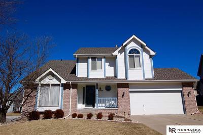 Omaha Single Family Home New: 16330 Hamilton Circle