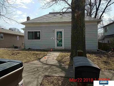 Plattsmouth Single Family Home For Sale: 805 G Avenue