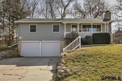 Papillion Single Family Home For Sale: 525 N Adams Street