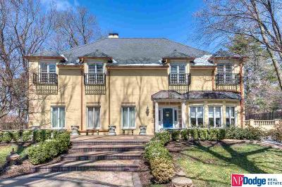Bennington, Elkhorn, Gretna, Omaha, Ralston, Bellevue, La Vista, Papillion, Springfield, Blair, Fort Calhoun Single Family Home For Sale: 6500 Prairie Avenue
