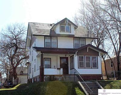 Omaha Single Family Home For Sale: 123 N 35 Avenue
