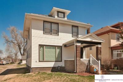 Omaha Single Family Home For Sale: 1630 Lothrop Street