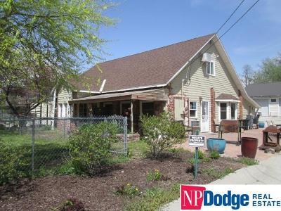 Omaha Single Family Home New: 8020 Maple Street