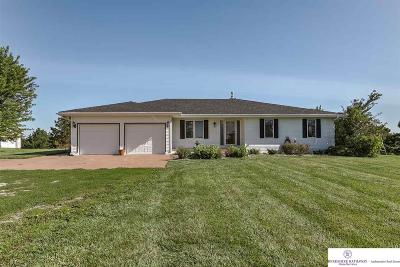 Bennington, Elkhorn, Gretna, Omaha, Ralston, Bellevue, La Vista, Papillion, Springfield, Blair, Fort Calhoun Single Family Home For Sale: 11898 County Road P30