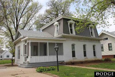 Blair Single Family Home For Sale: 1629 Grant Street