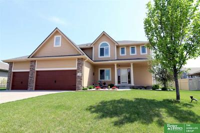 Papillion Single Family Home New: 7633 Legacy Street