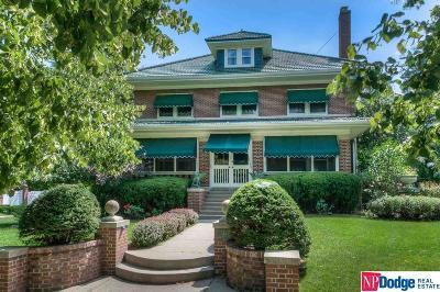 Omaha Single Family Home For Sale: 225 S 55 Street