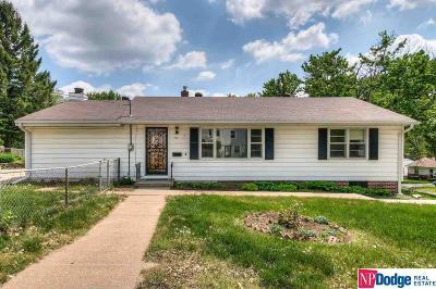Omaha Single Family Home New: 7521 Izard Street